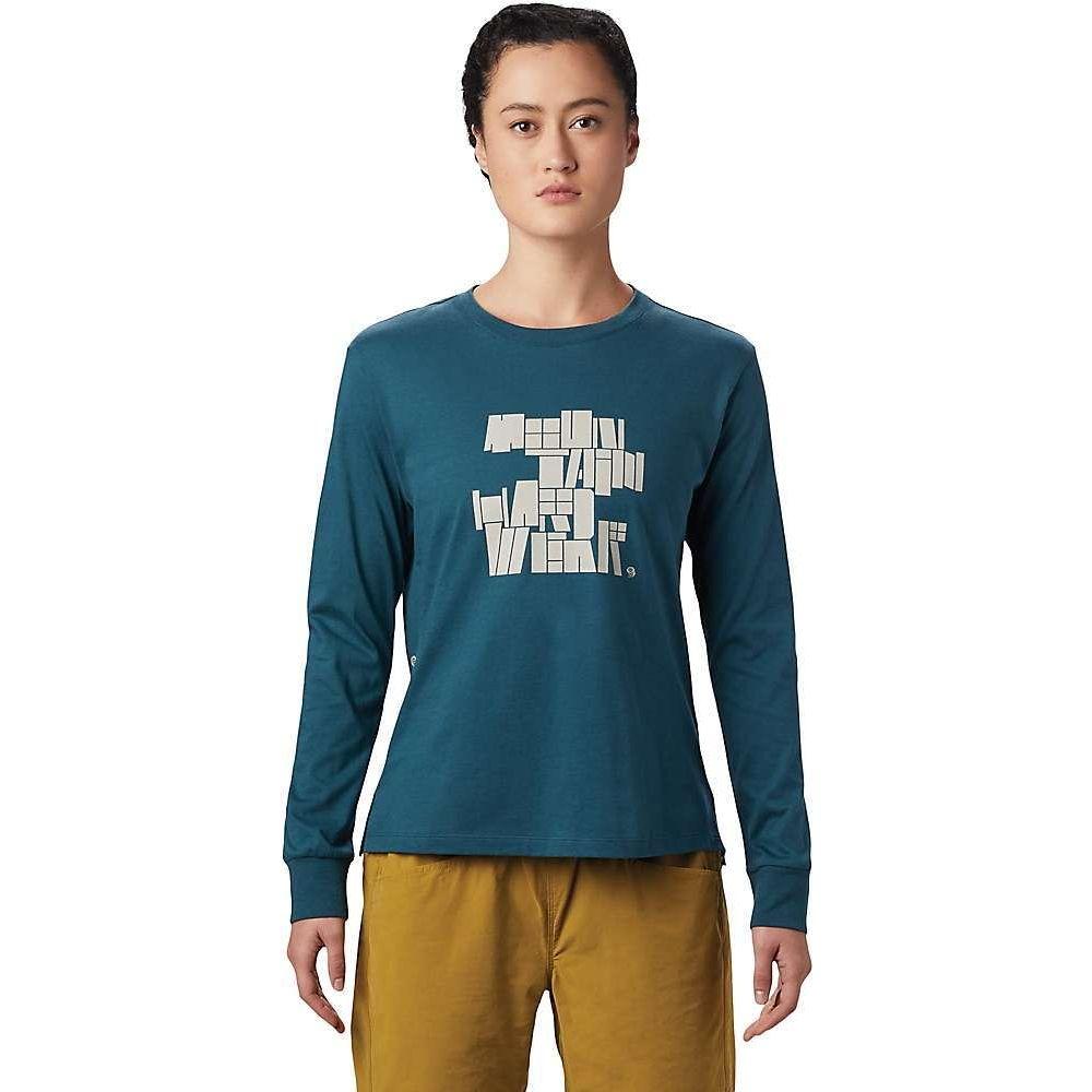 マウンテンハードウェア Mountain Hardwear レディース 長袖Tシャツ トップス【MHW/Tomomi LS Tee】Icelandic