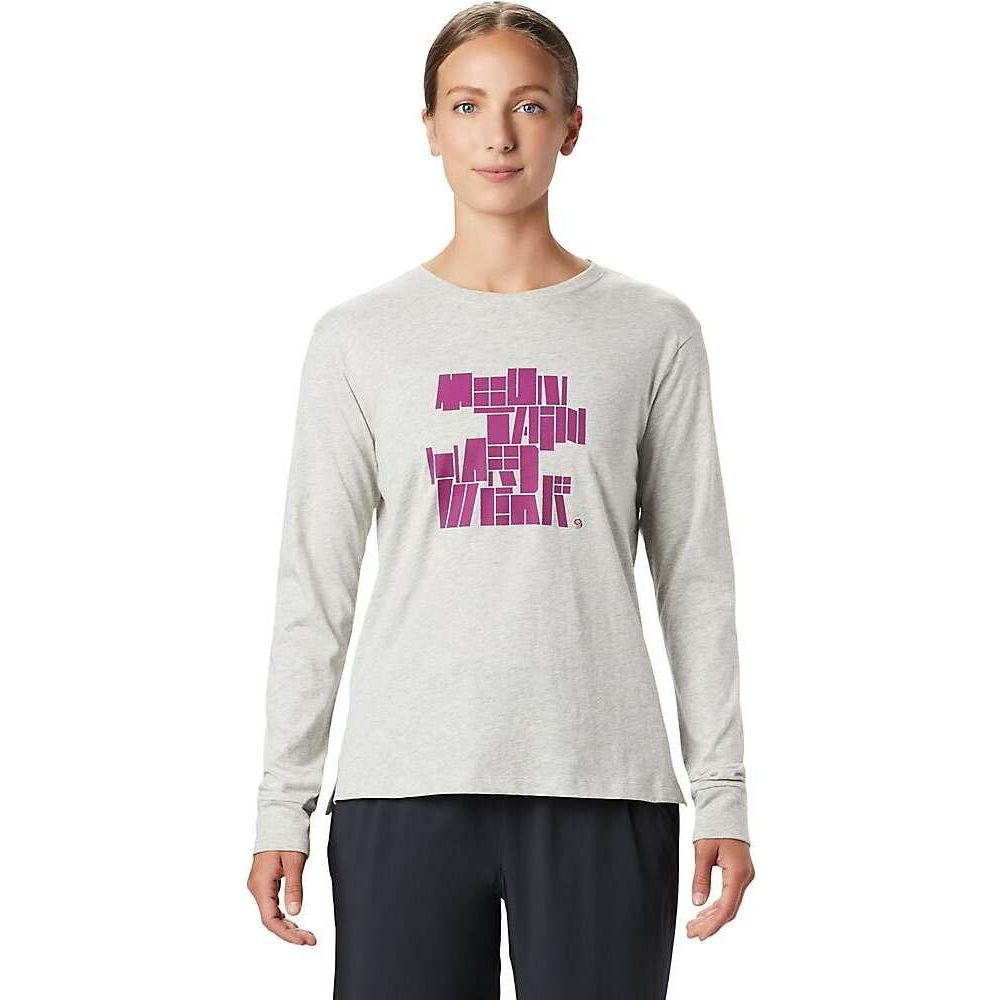 マウンテンハードウェア Mountain Hardwear レディース 長袖Tシャツ トップス【MHW/Tomomi LS Tee】Heather Grey
