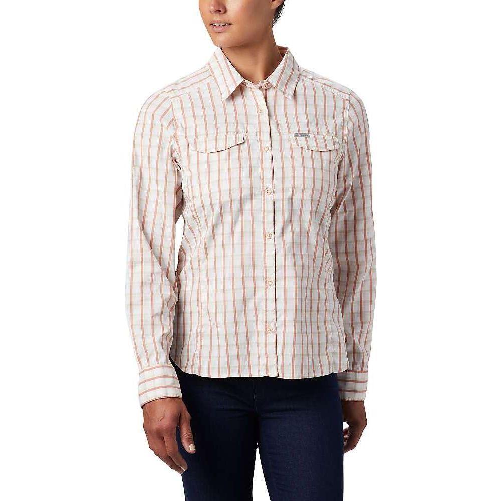コロンビア Columbia レディース トップス 【Silver Ridge Lite Plaid LS Shirt】Peach Cloud Gingham Plaid