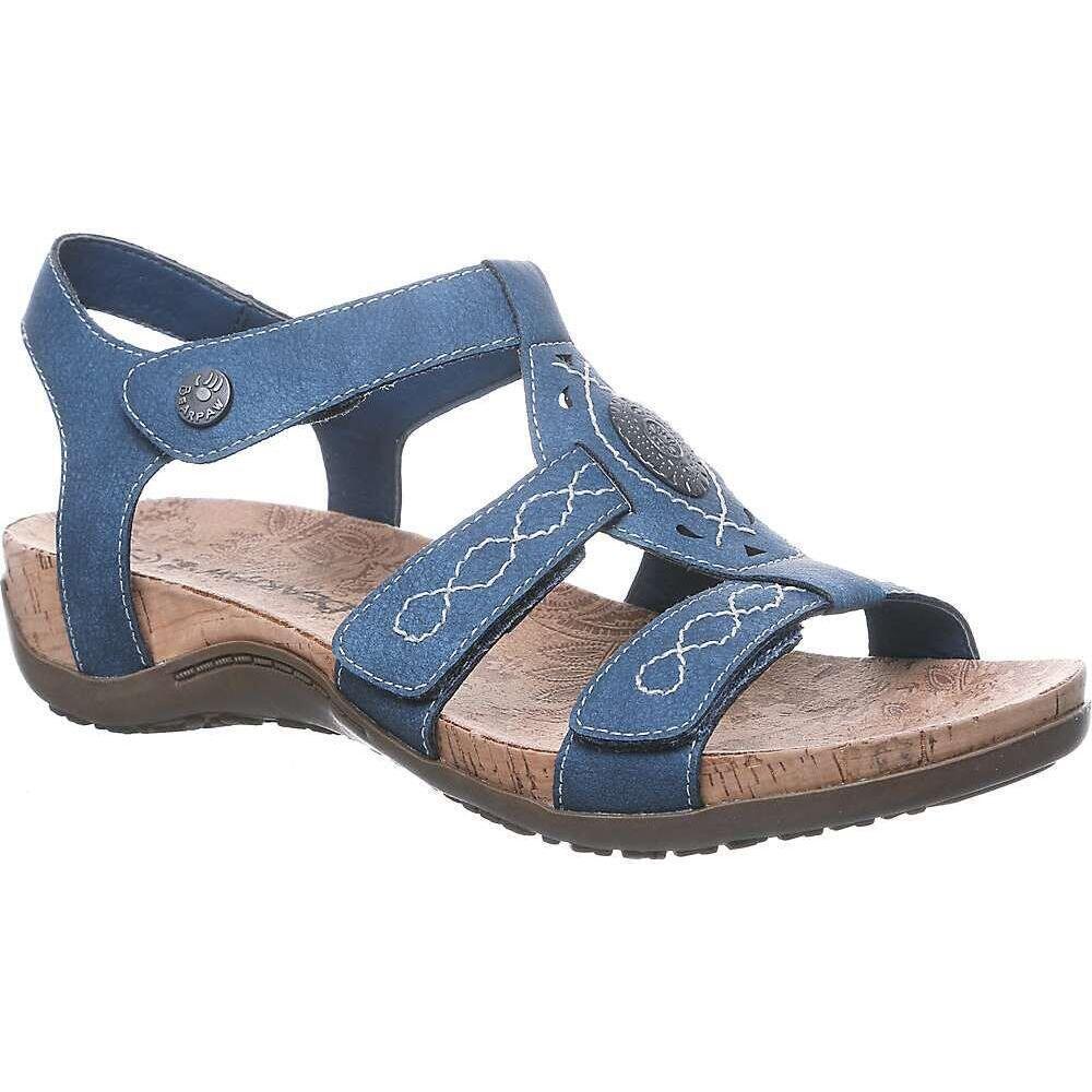 ベアパウ Bearpaw レディース サンダル・ミュール シューズ・靴【Ridley Sandal】Blue