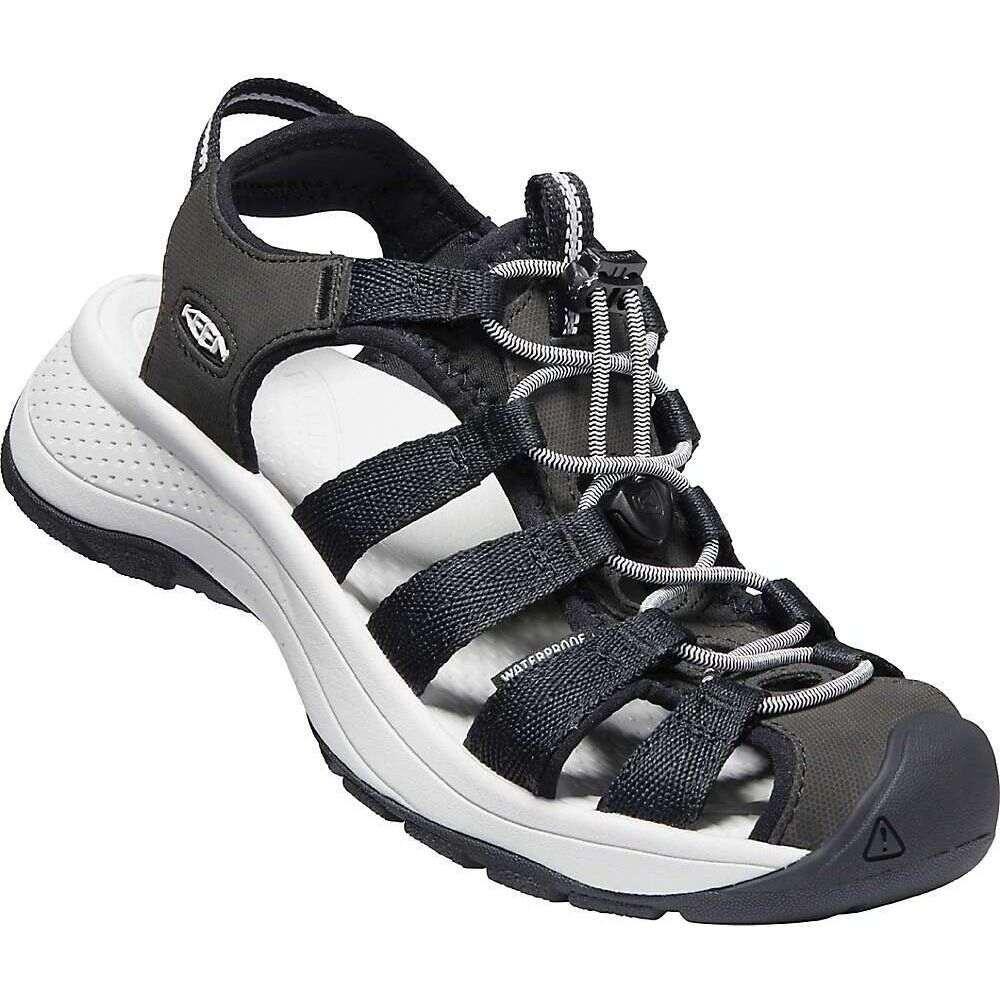 キーン Keen レディース サンダル・ミュール シューズ・靴【KEEN Astoria West Sandal】Black/Grey