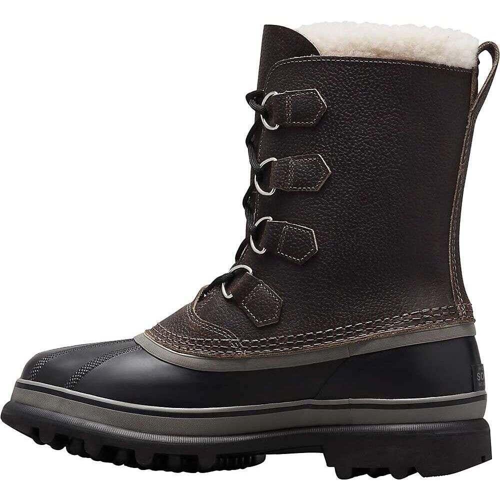 ソレル Sorel メンズ ブーツ シューズ・靴【Caribou Wool Boot】Quarry/Black