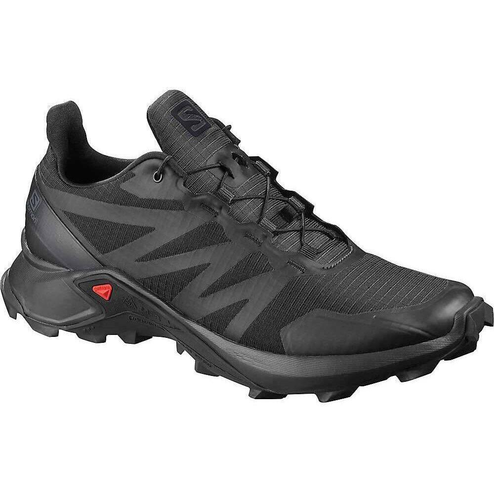 サロモン Salomon メンズ ランニング・ウォーキング シューズ・靴【Supercross Shoe】Black/Black/Black