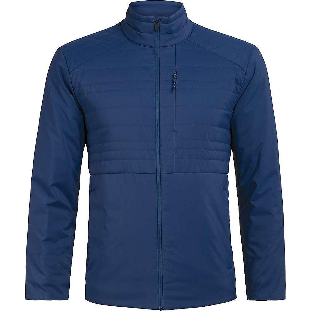 アイスブレーカー Icebreaker メンズ ジャケット アウター【Tropos Jacket】Estate Blue