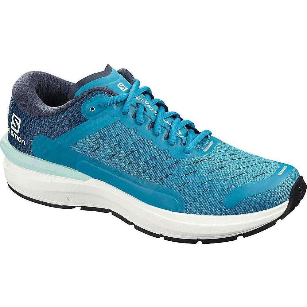 サロモン Salomon メンズ ランニング・ウォーキング シューズ・靴【Sonic 3 Confidence Shoe】Fjord Blue/White/Poseidon