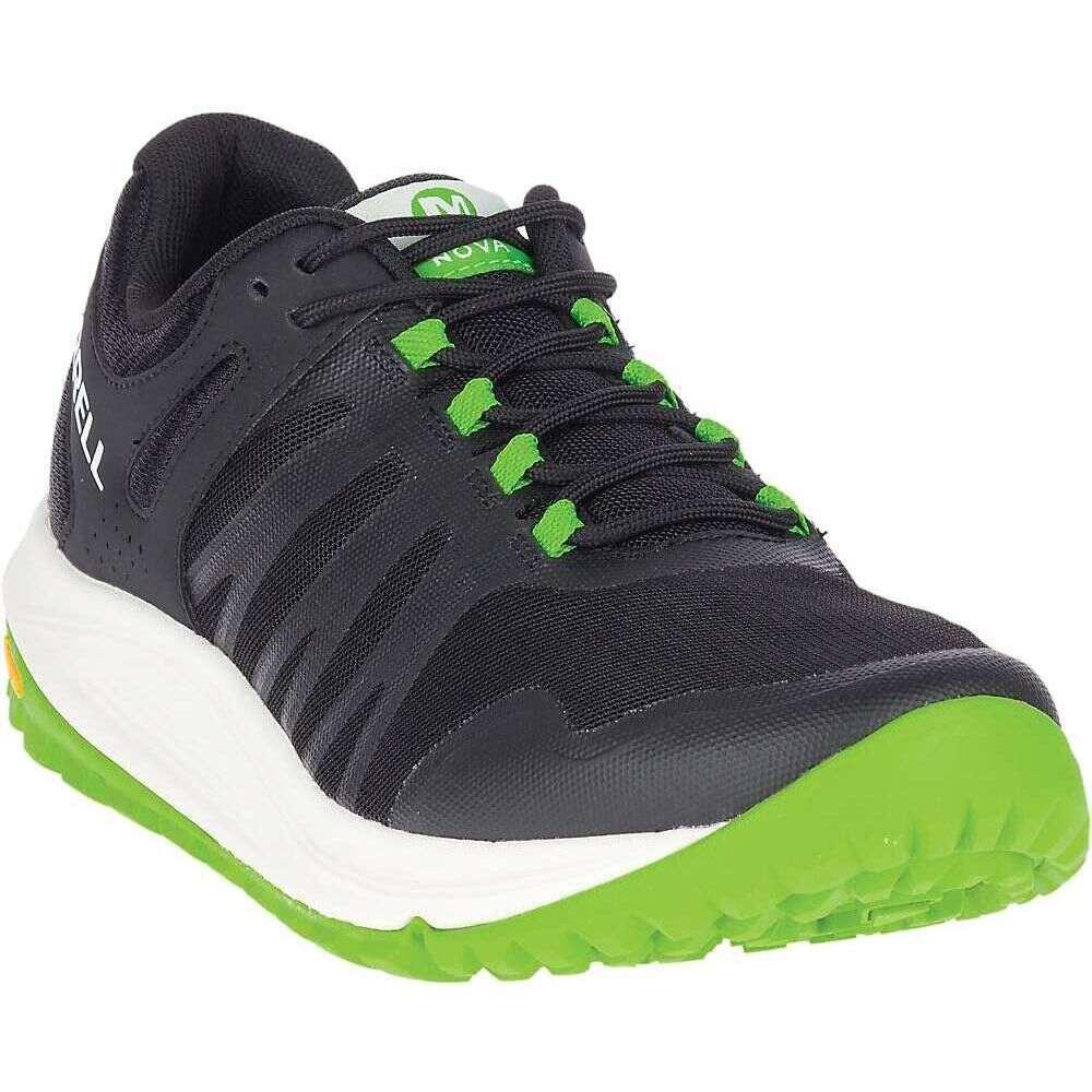 メレル Merrell メンズ ランニング・ウォーキング シューズ・靴【Nova Shoe】Black/Lime