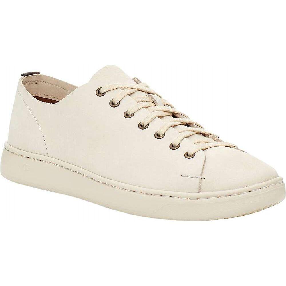 アグ Ugg メンズ シューズ・靴 ローカット【Pismo Sneaker Low Shoe】Bone White