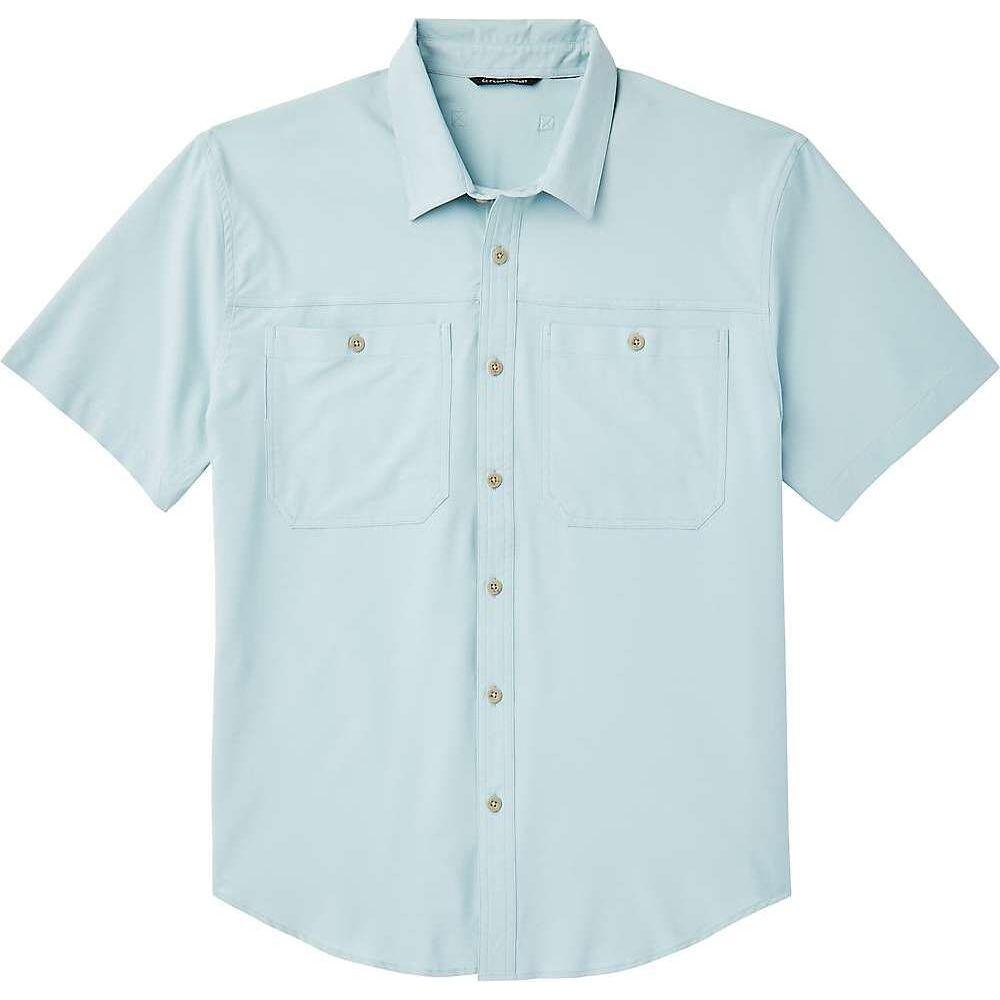 フィルソン Filson メンズ 半袖シャツ トップス【Ultra-Light SS Shirt】Gulf Blue