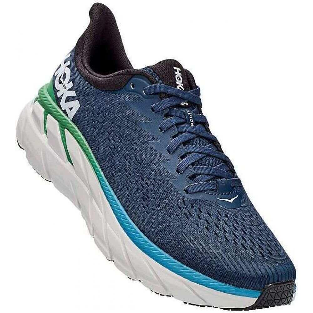 ホカ オネオネ Hoka One One メンズ ランニング・ウォーキング シューズ・靴【Clifton 7 Shoe】Moonlit Ocean/Anthracite