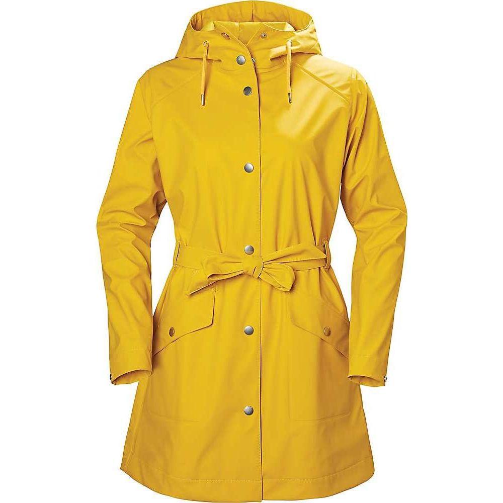 ヘリーハンセン Helly Hansen レディース レインコート アウター【Kirkwall II Raincoat】Essential Yellow