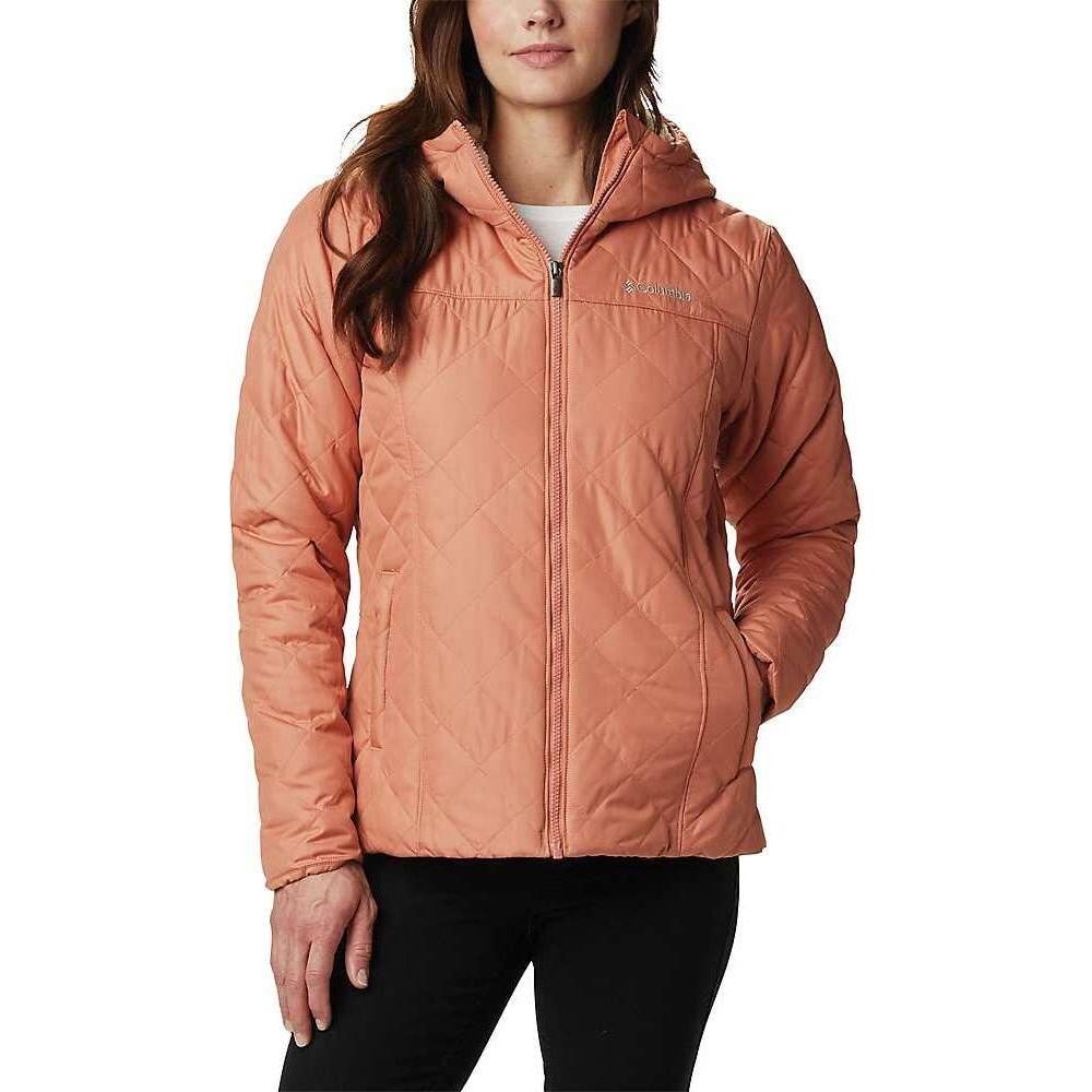 コロンビア Columbia レディース ジャケット フード アウター【Copper Crest Hooded Jacket】Nova Pink