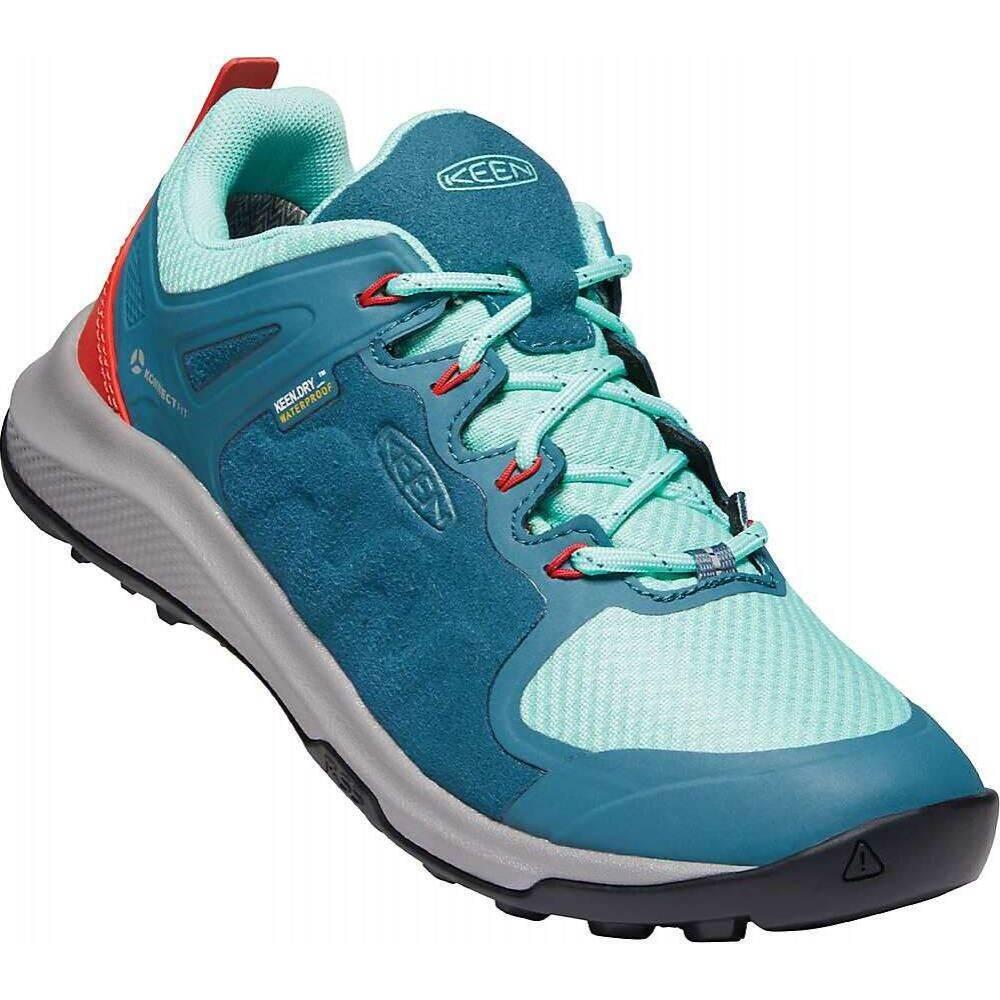 <title>キーン レディース ハイキング 登山 シューズ 靴 Balsam Beveled お求めやすく価格改定 Glass サイズ交換無料 Keen KEEN Explore WP Shoe</title>