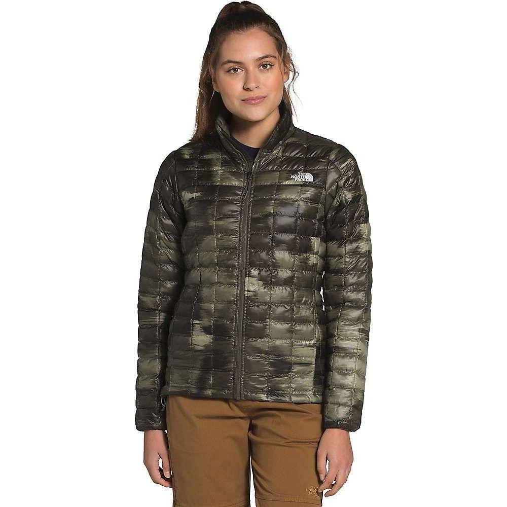 ザ ノースフェイス The North Face レディース ジャケット アウター【ThermoBall Eco Jacket】New Taupe Green Vapor Ikat Print Matte