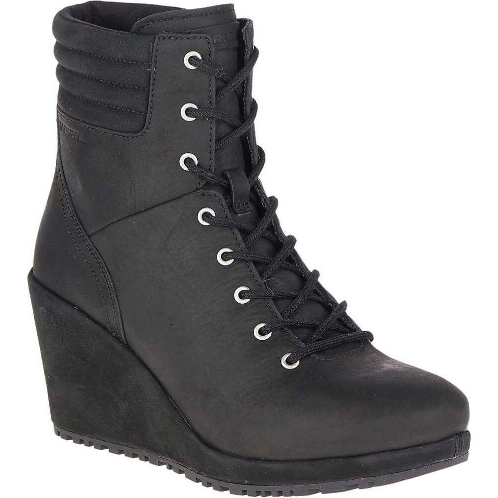 メレル Merrell レディース ブーツ ウェッジソール シューズ・靴【Tremblant Wedge Waterproof Boot】Black