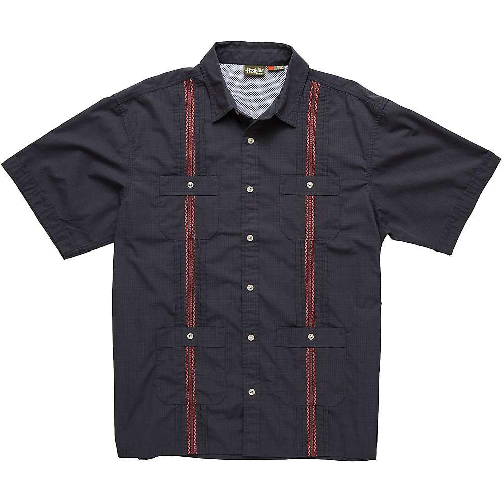ホウラーブラザーズ メンズ トップス 半袖シャツ【Howler Bros Guayabera Shirt】Charred Grey