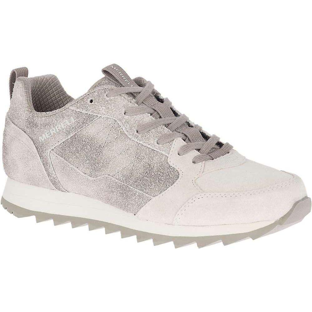 メレル Merrell レディース スニーカー シューズ・靴【Alpine Suede Sneaker】Cloud