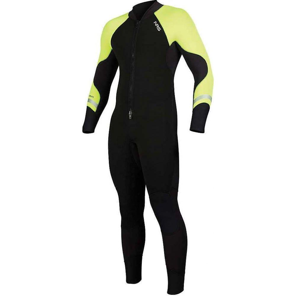 Green メンズ エヌアールエス NRS ウェットスーツ 3/2 水着・ビーチウェア【Steamer Wetsuit】Black/High Vis