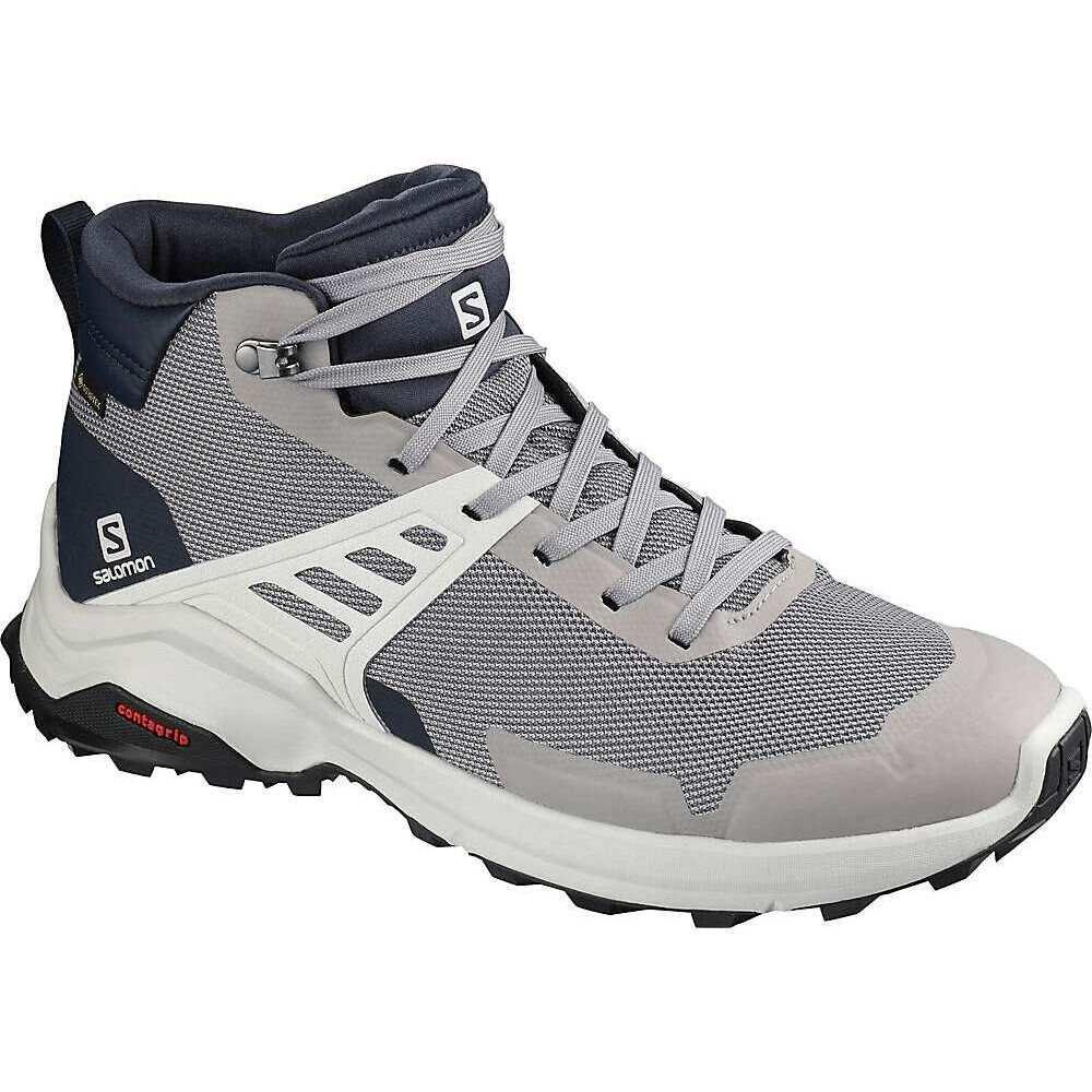 サロモン メンズ ハイキング 登山 お得クーポン発行中 シューズ 靴 Frost Grey Lunar Rock サイズ交換無料 Salomon Shoe Raise 割引も実施中 Blazer GTX X Navy Mid