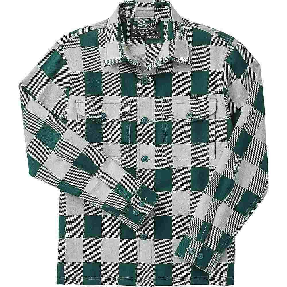 フィルソン Filson メンズ トップス 【Deer Island Jac-Shirt】Forest/Heather Grey