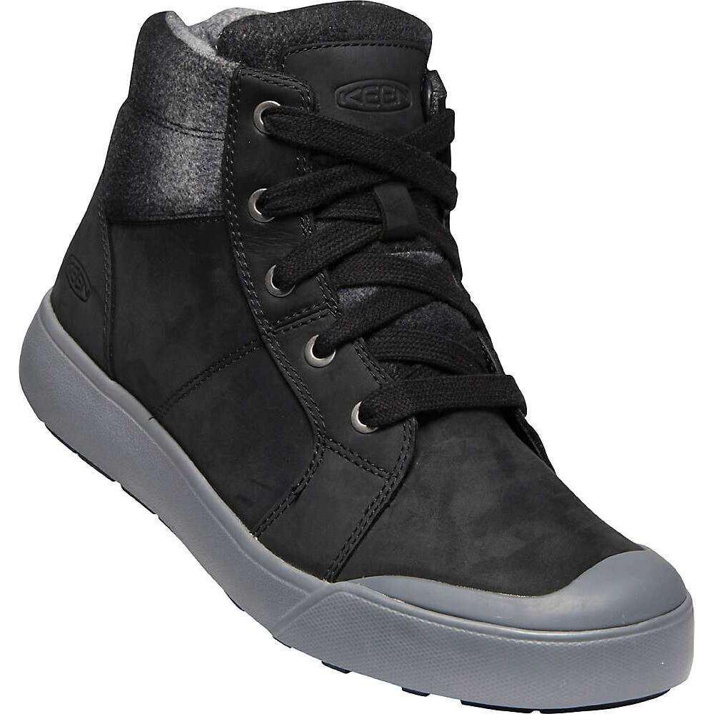 キーン Keen レディース ブーツ シューズ・靴【Elena Mid Boot】Black/Drizzle