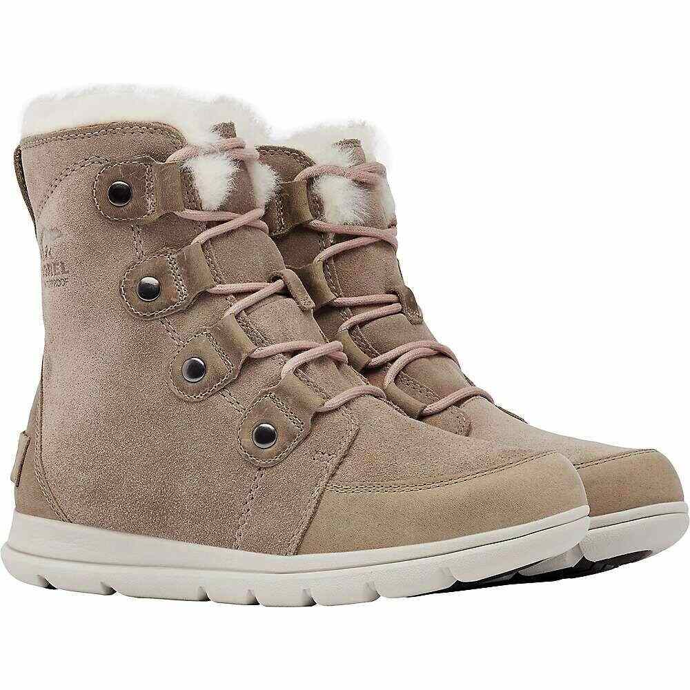 ソレル Sorel レディース ブーツ シューズ・靴【Explorer Joan Boot】Ash Brown