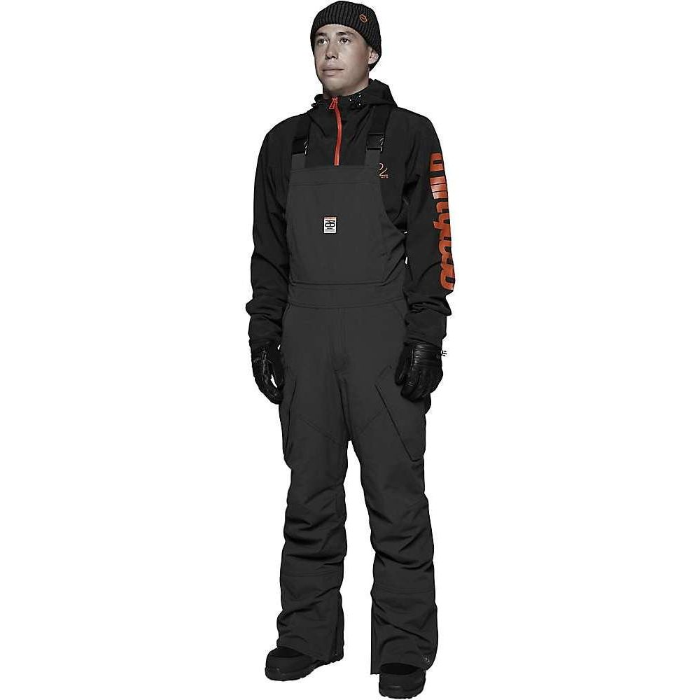 サーティーツー メンズ 超激安特価 スキー スノーボード ボトムス 割引も実施中 パンツ Black Bib Thirty Two Basement ビブパンツ Pant サイズ交換無料