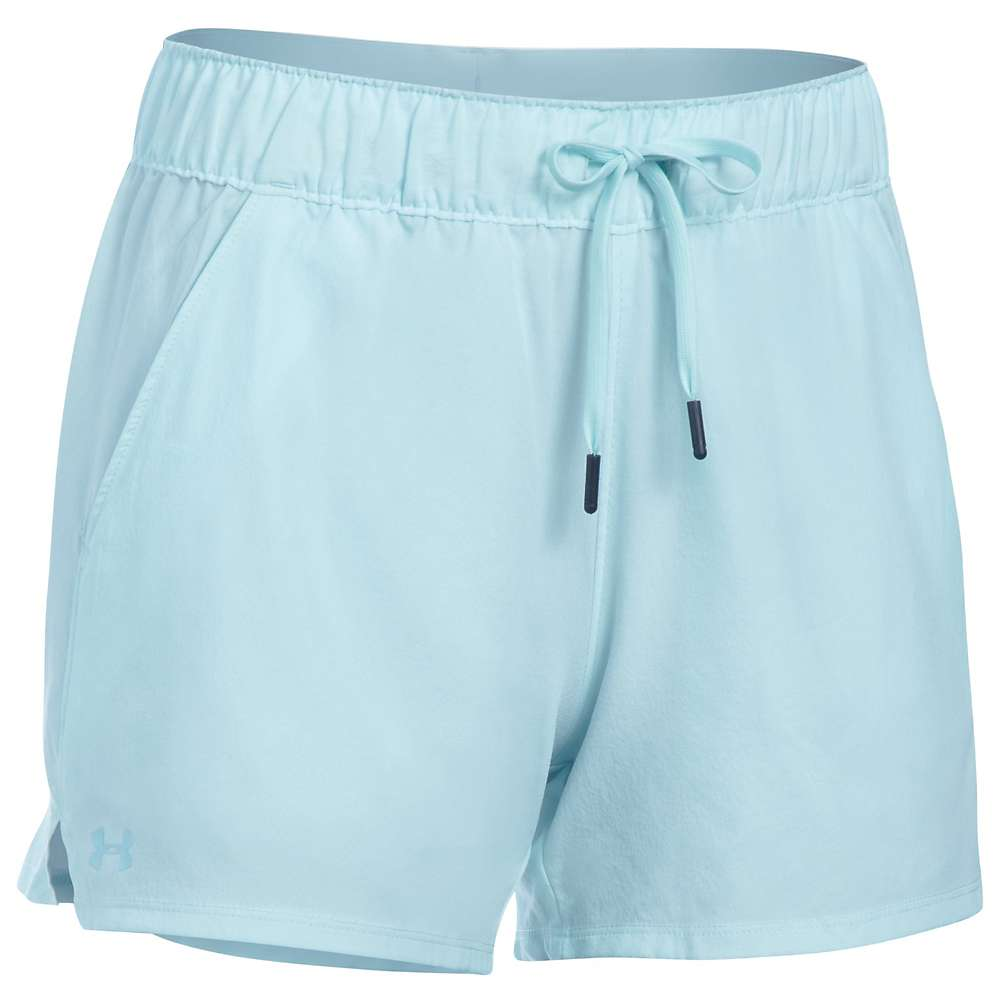 アンダーアーマー レディース ランニング ウェア【Under Armour UA Turf and Tide Short】Skylight / Skylight / Maui