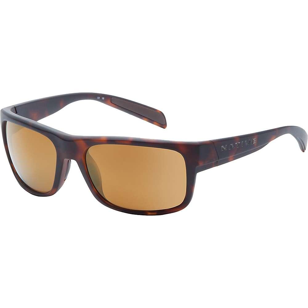 ネイティブ メンズ アクセサリー メガネ・サングラス【Native Ashdown Polarized Sunglasses】Matte Dark Tortiose / Bronze Reflex Polarized