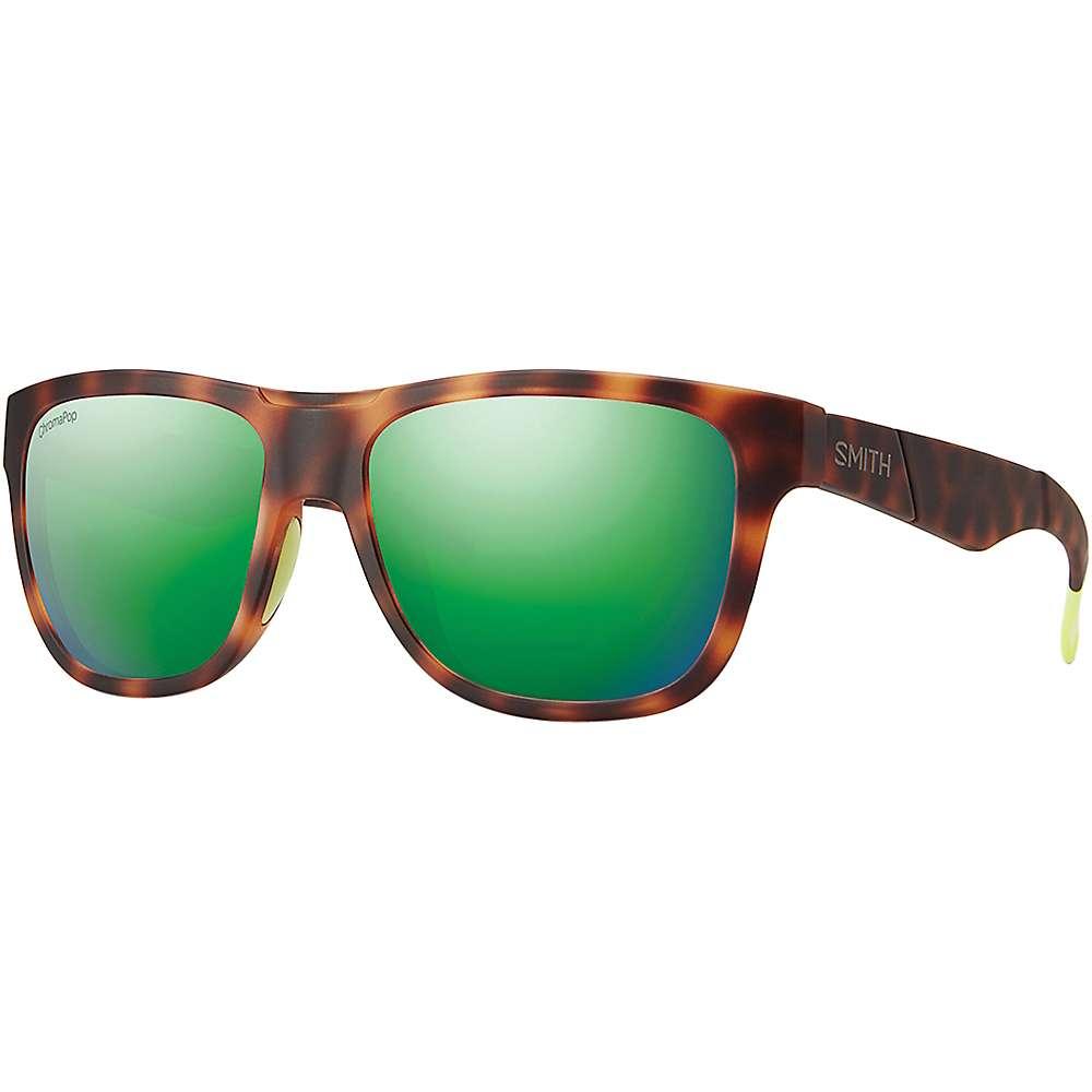 スミス ユニセックス メンズ レディース アクセサリー メガネ・サングラス【Smith Lowdown Slim ChromaPop Sunglasses】Matte Tortoise Neon / Sun Green Mirror