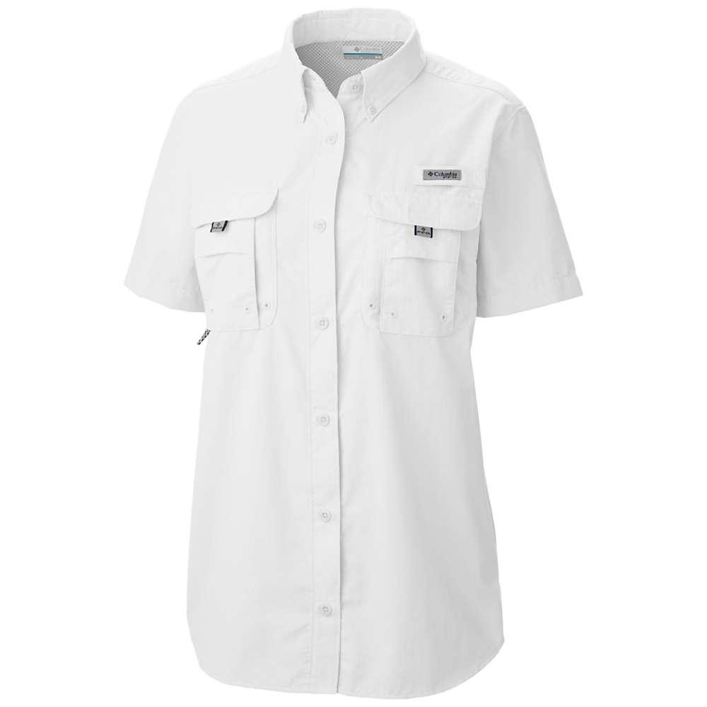 コロンビア レディース トップス 長袖シャツ【Columbia Bahama SS Shirt】White