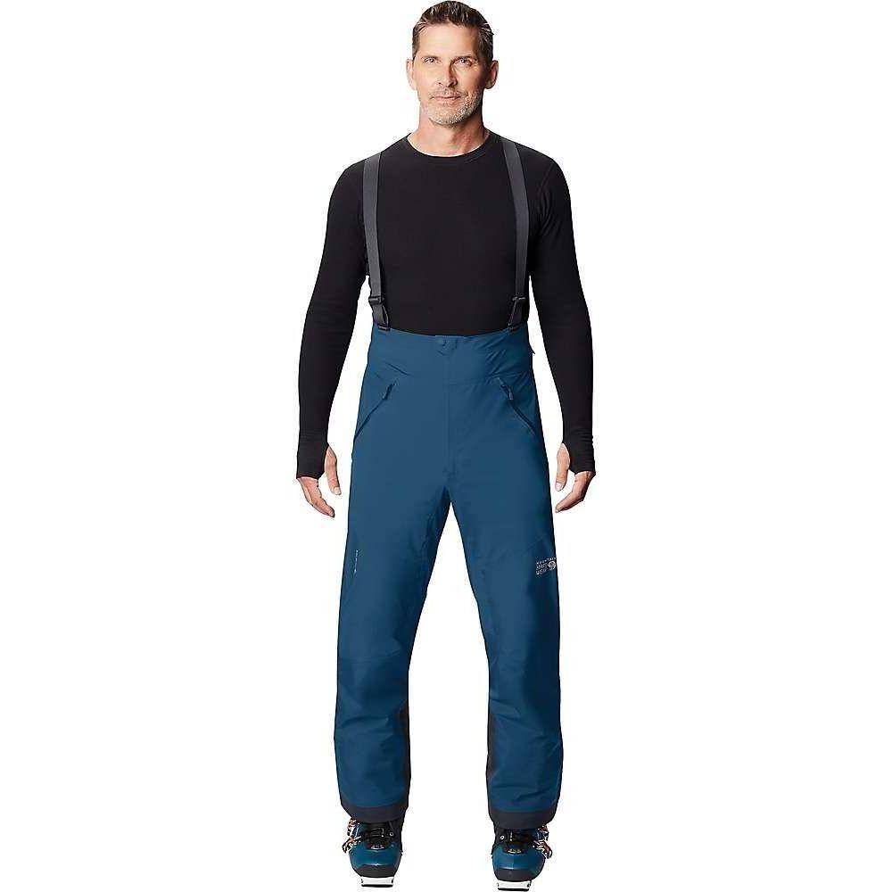 マウンテンハードウェア メンズ スキー スノーボード ボトムス パンツ Blue Horizon サイズ交換無料 ストアー High Hardwear C-Knit Bib GTX 人気海外一番 Exposure Mountain ビブパンツ
