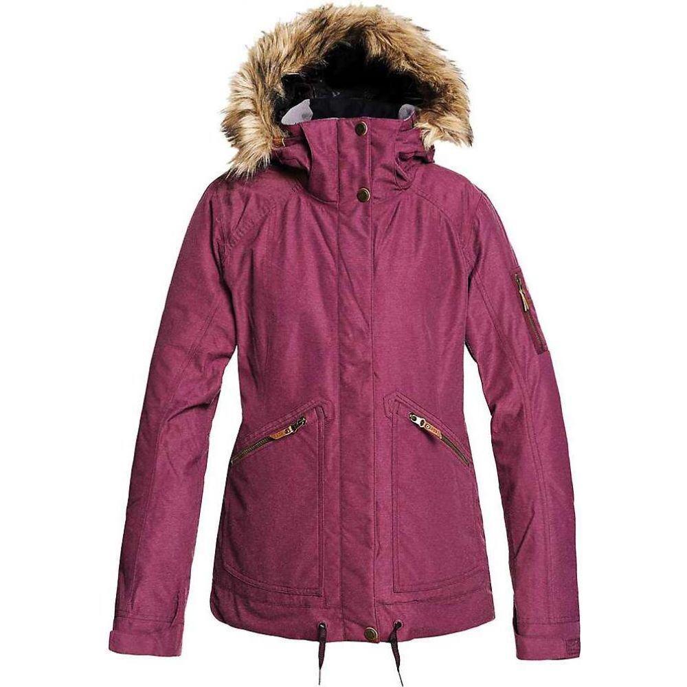 ロキシー レディース スキー 往復送料無料 スノーボード アウター Grape 商舗 Jacket ジャケット Meade Wine Roxy サイズ交換無料