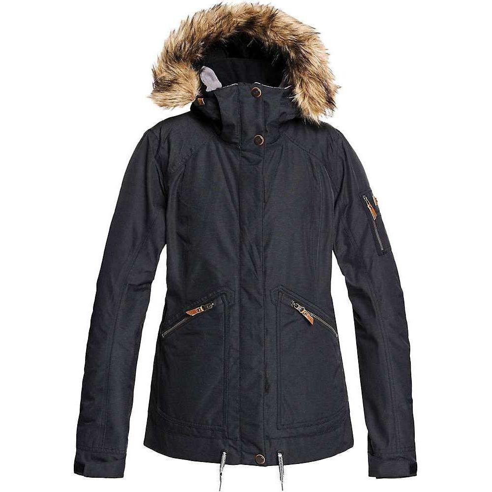 ロキシー モデル着用 注目アイテム レディース スキー スノーボード アウター True ジャケット Roxy Meade サイズ交換無料 Black おトク Jacket