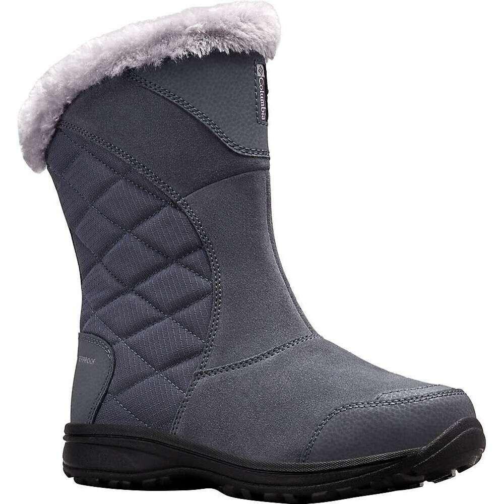 Ice Columbia ブーツ Maiden シューズ・靴【Columbia II Footwear コロンビア レディース Slip Grey Boot】Graphite/Columbia