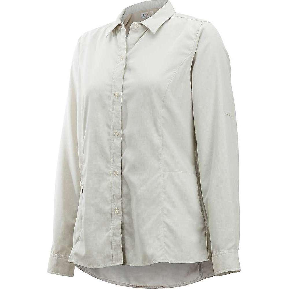 想像を超えての エクスオフィシオ ExOfficio レディース ブラウス・シャツ トップス【BugsAway Brisa LS Shirt】Light Stone, Ryu-en 41b0685f