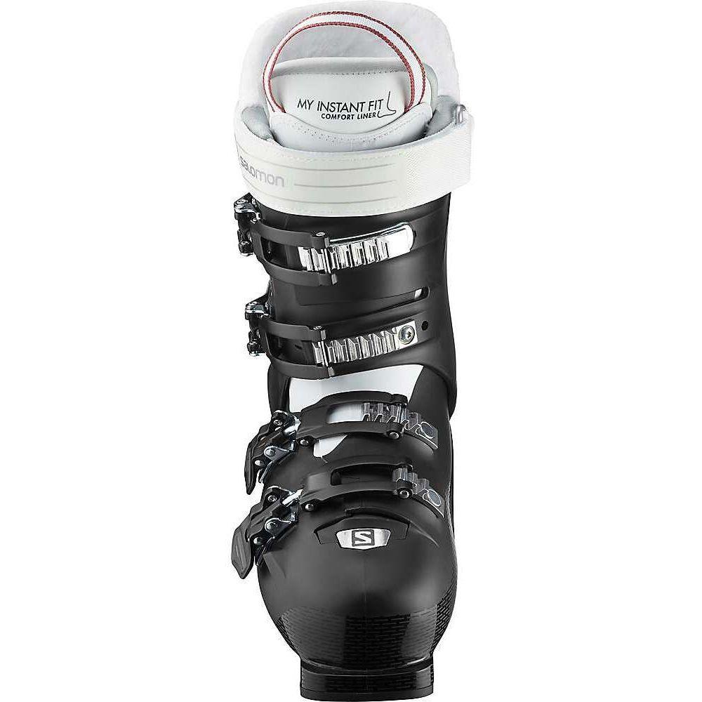 サロモン レディース スキー スノーボード シューズ 靴 Black White Garnet Pink Salomon Pro IC サイズ交換無料 Boot 70 ブーツ 年中無休 HV S 送料0円 Ski