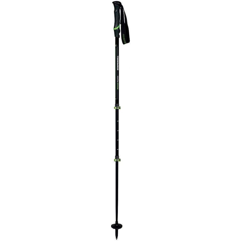 <title>コンパーデル 贈り物 ユニセックス ハイキング 登山 Black Green サイズ交換無料 Komperdell 登山ストック ポール Hikemaster Powerlock Trekking Pole</title>