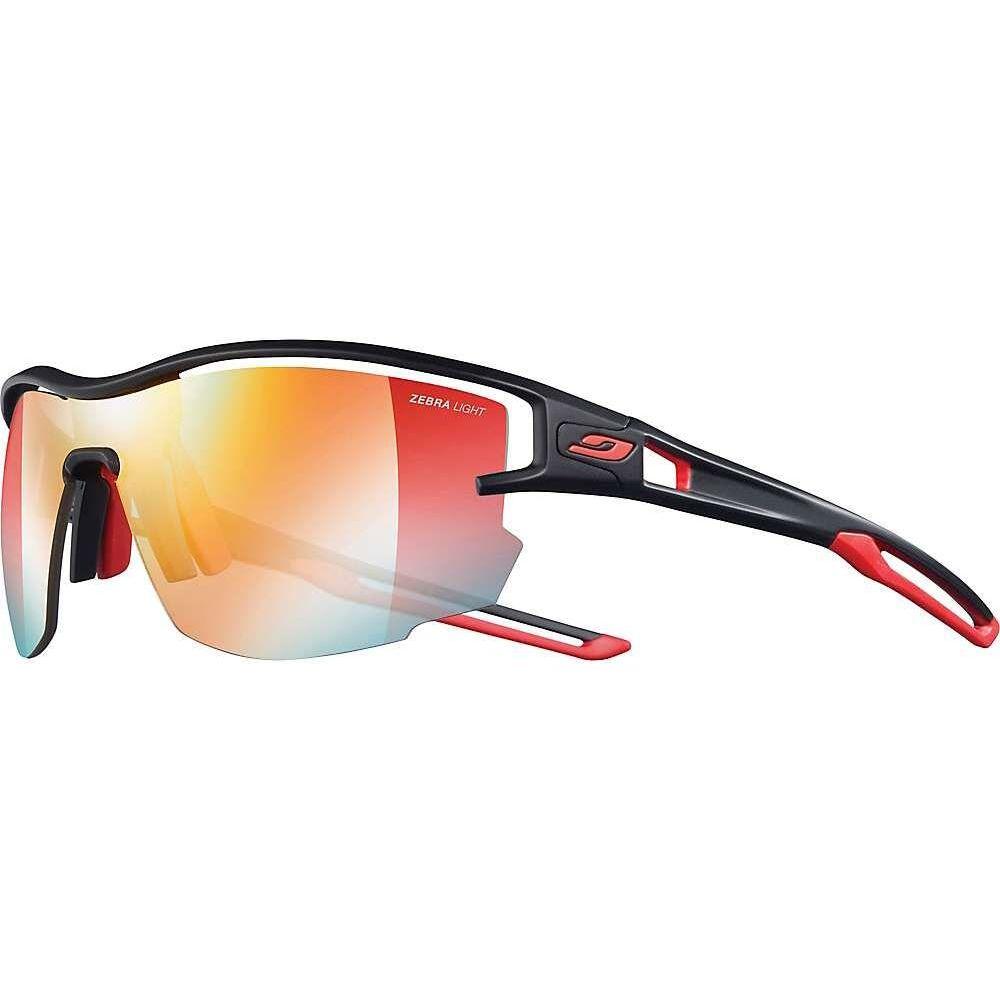 出荷 ジュルボ ユニセックス ファッション小物 スポーツサングラス Black Red Light Zebra Sunglasses サイズ交換無料 Julbo Aero 永遠の定番モデル