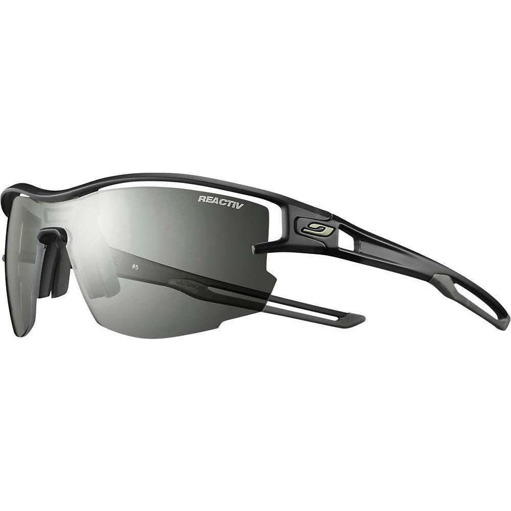 ジュルボ ユニセックス ファッション小物 スポーツサングラス Translucent 出群 Black Army サイズ交換無料 Reactiv トラスト Julbo Sunglasses Aero Performance