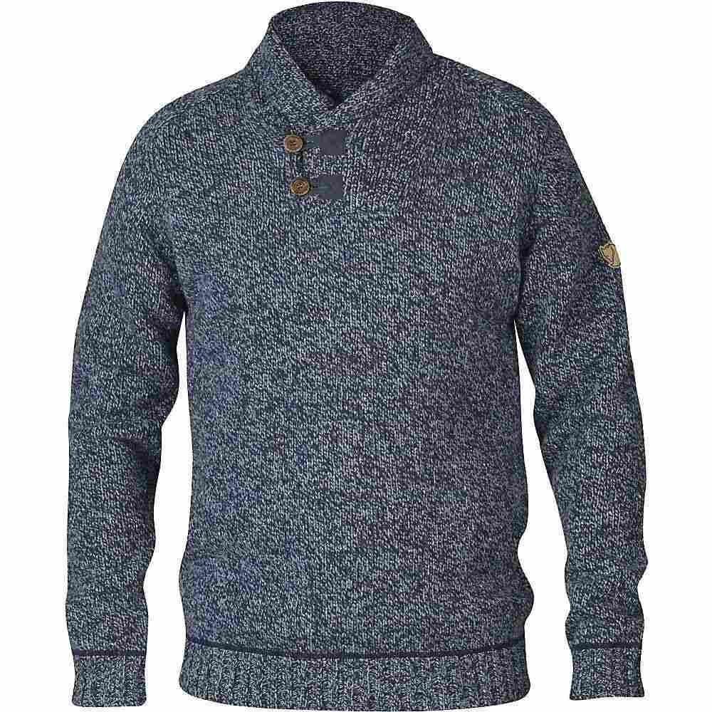 フェールラーベン メンズ トップス ニット セーター Dark Fjallraven Sweater 在庫一掃 Navy 百貨店 Lada サイズ交換無料