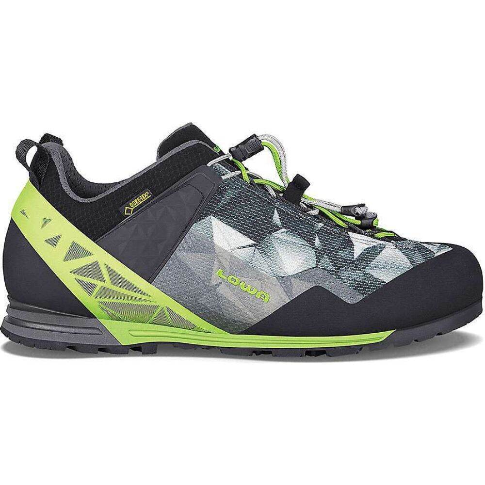 ローバー Lowa Lo Boots シューズ・靴【Lowa メンズ Pro GTX Shoe】Anthracite/Lime クライミング Approach