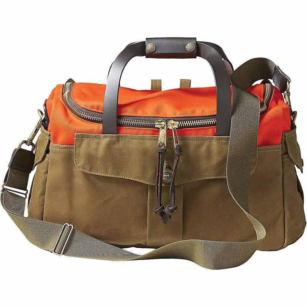 フィルソン ユニセックス バッグ ボストンバッグ 感謝価格 ダッフルバッグ Orange Dark Sportsman サイズ交換無料 Heritage Tan Filson Bag 信用