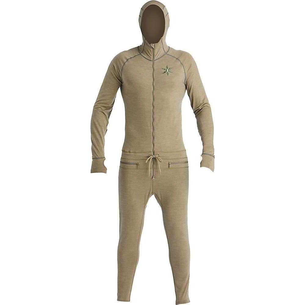 【超ポイントバック祭】 エアブラスター Airblaster メンズ インナー・下着 【Merino Ninja Suit】Olive, かなもん 9bace6d6