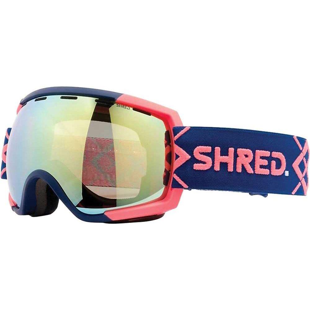 シュレッド ユニセックス スキー スノーボード ゴーグル 激安特価品 Bigshow Navy Rust CBL Goggles 本物 Snow Cbl Mirror Rarify サイズ交換無料 Hero Shred