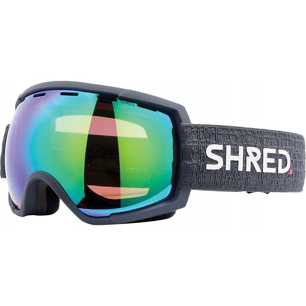 国際ブランド シュレッド ユニセックス スキー スノーボード ゴーグル Grey CBL サイズ交換無料 Snow Plasma Rarify Mirror Goggles 大幅にプライスダウン Shred