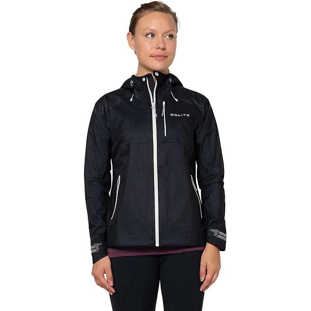 ゴーライト レディース 《週末限定タイムセール》 ランニング ウォーキング アウター Black Jacket 完売 Pinnacle Pro サイズ交換無料 GoLite ジャケット