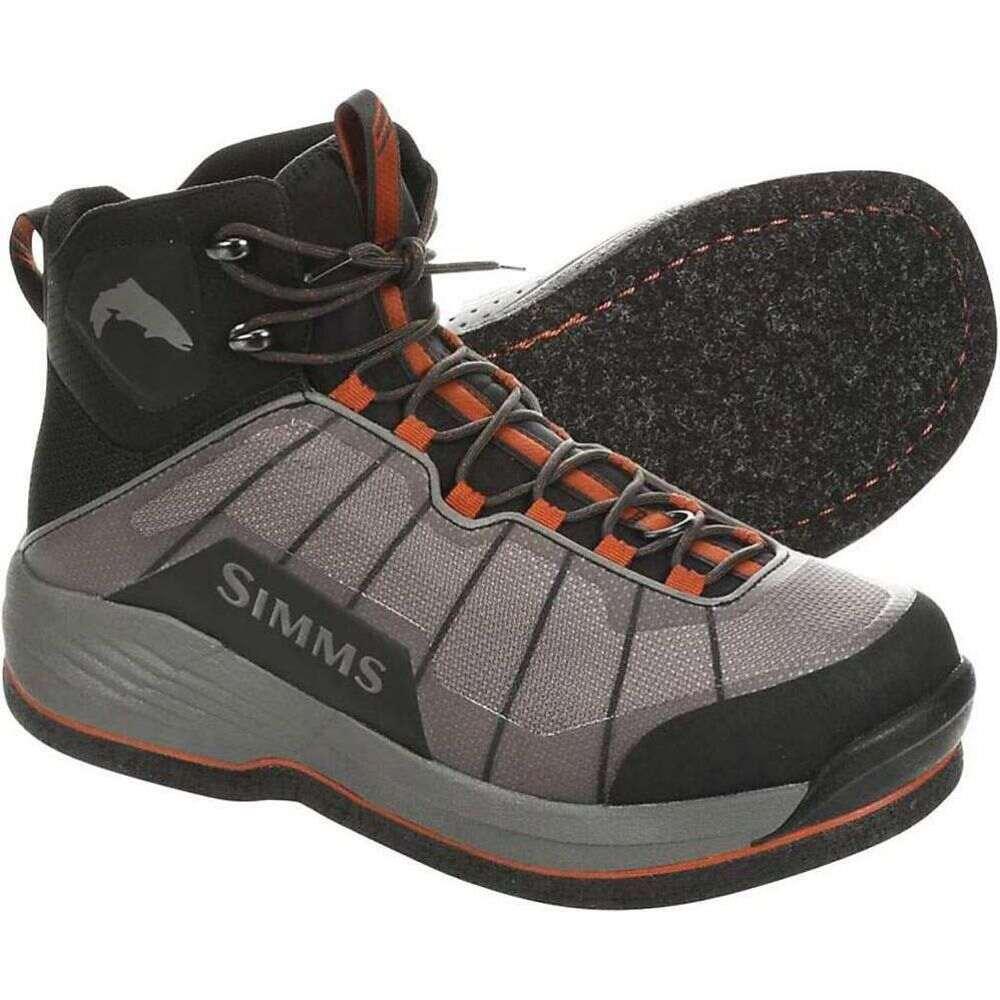 シムス メンズ シューズ・靴 ウォーターシューズ Steel Grey 【サイズ交換無料】 シムス Simms メンズ ウォーターシューズ シューズ・靴【Flyweight Boot - Felt】Steel Grey
