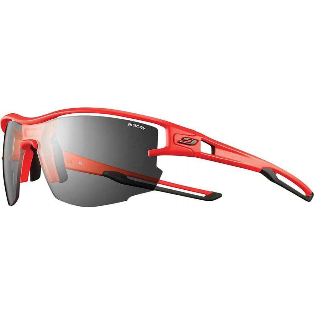ジュルボ ユニセックス ファッション小物 スポーツサングラス Neon Orange Black サイズ交換無料 Julbo Reactiv セール価格 Performance 激安☆超特価 Sunglasses Aero
