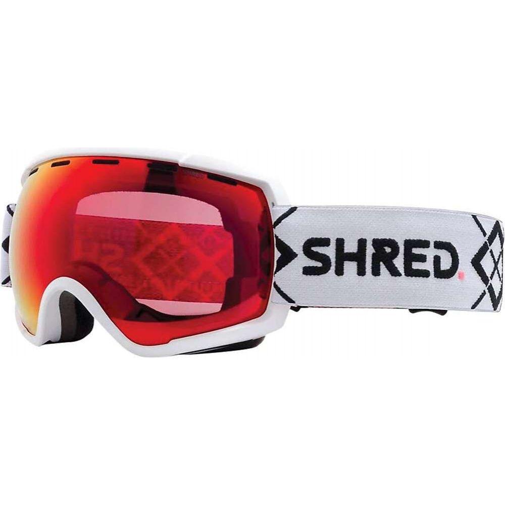 シュレッド ユニセックス スキー 春の新作シューズ満載 スノーボード ゴーグル Bigshow White CBL Rarify Snow Goggles Shred Blast ふるさと割 Mirror Cbl サイズ交換無料