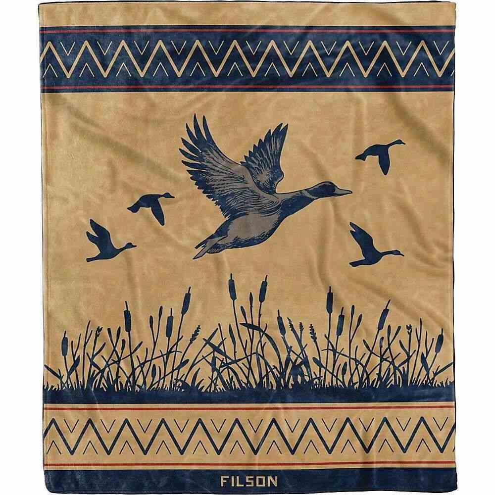 フィルソン ユニセックス 財布 時計 雑貨 Twill サイズ交換無料 Unlimited Blanket Waterfowl - Filson Ducks 即納最大半額 ブランケット Seasonal Wrap入荷